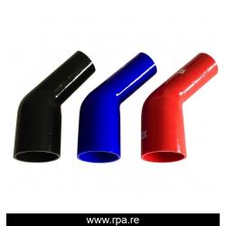 51-63mm réducteur silicone 45°