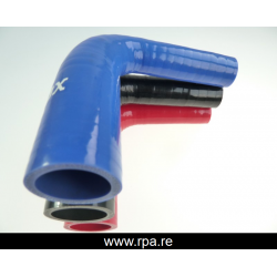 60-63mm réducteur silicone 90°
