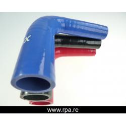 60-76mm réducteur silicone 90°